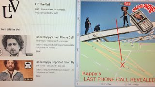 Isaac Kappy UPDATE Martyr-Suicide Coverup 📌LtV introduces LAST PHONE ☎️CALL TRANSCRIPT B4 JUMPING🚑