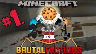 MINECRAFT: KEKSIĆI SU OP!!!-BrutalFactions w/Bloodmaster Part 1.