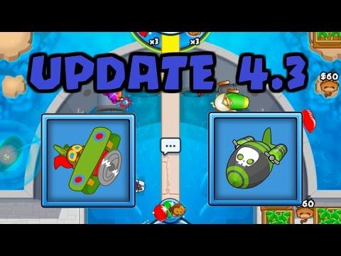 Bloons TD Battles NEW Update 4.3 Balance Changes! [BTD Battles]