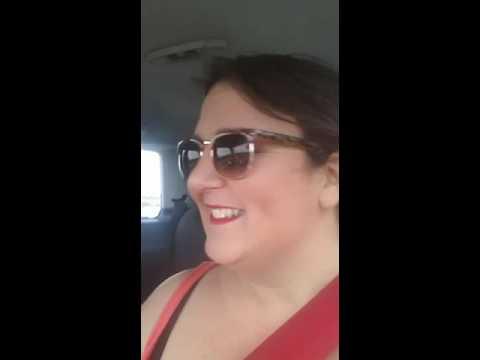 car pool karaoke en route to Blackpool 😉