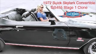 1972 Buick Skylark Convertible GS455 Stage I Clone