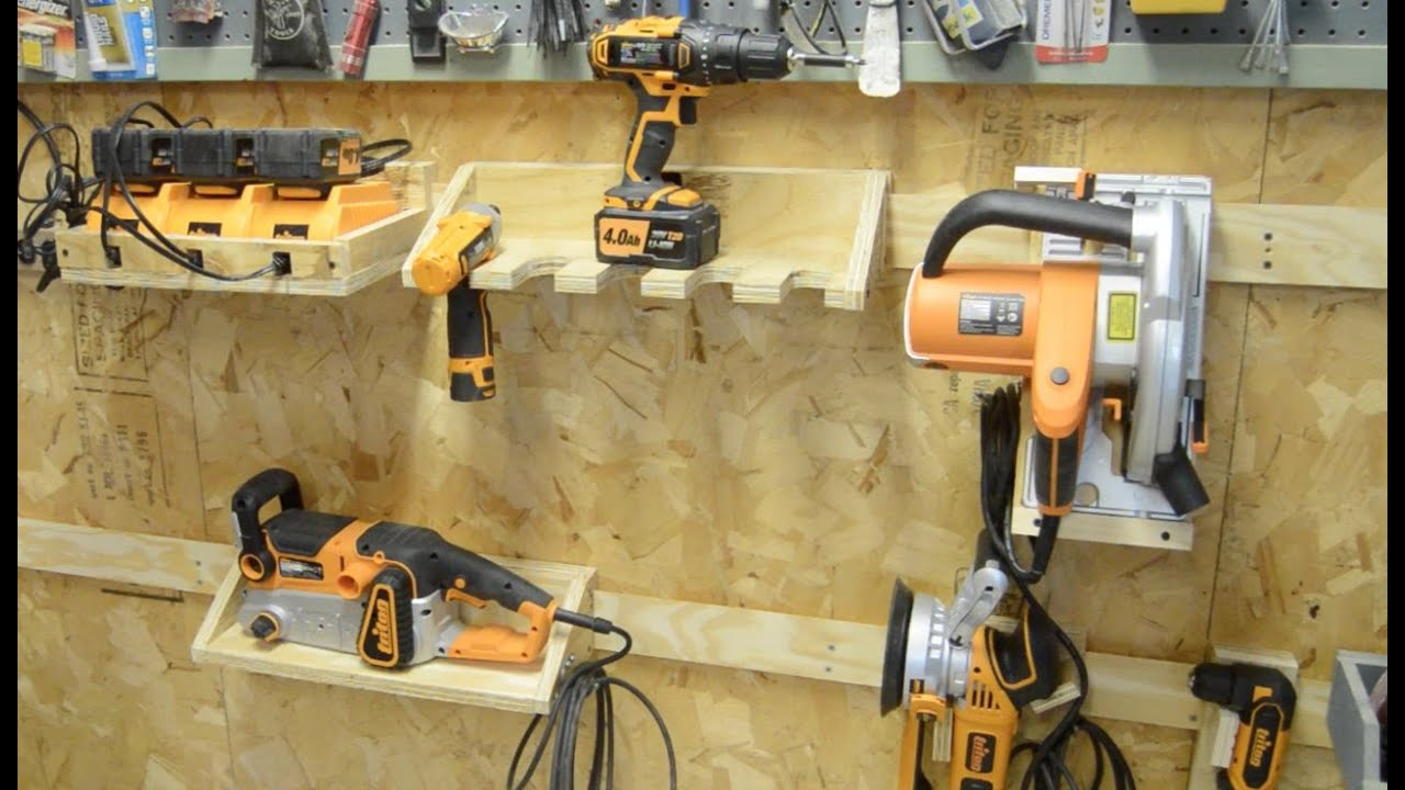 & Building a French Cleat System for Power Tools - YouTube