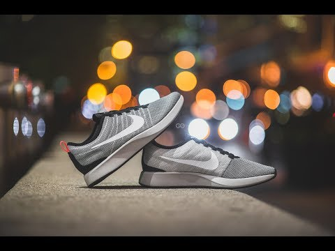 """Review & On-Feet: Nike Dualtone Racer """"Pale Grey / Solar Red"""""""