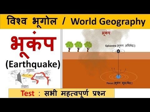 World Geography : भूकंप (Earthquake)  & All Important Questions