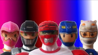 Toys Morph into Power Rangers