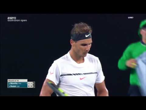Nadal vs Monfils - Australian Open 2017 R4 Highlights