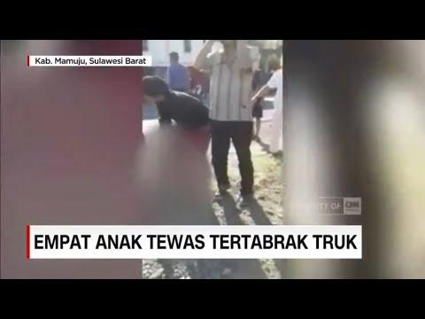 Tragis! Empat Orang Anak Tewas Tertabrak Truk
