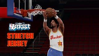 NBA 2K16 STRETCH( NBA STREET ) JERSEY TUTORIAL AND RUCKER PARK COURT  TUTORIAL 754b32822
