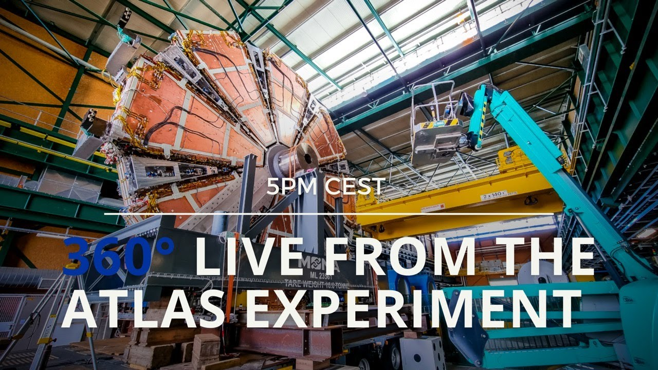 Download 360° Live from the ATLAS Experiment at CERN 😲