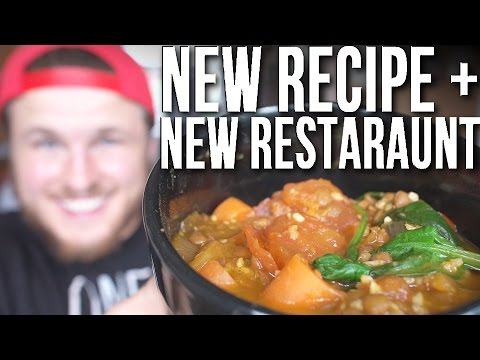 Easy AF Recipe + New Vegan Restaurant Review | Vegan Full Day of Eating (BULKING)