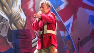 Iron Maiden - The Trooper live @ LeSports Center, Beijing, China - 24th April 2016