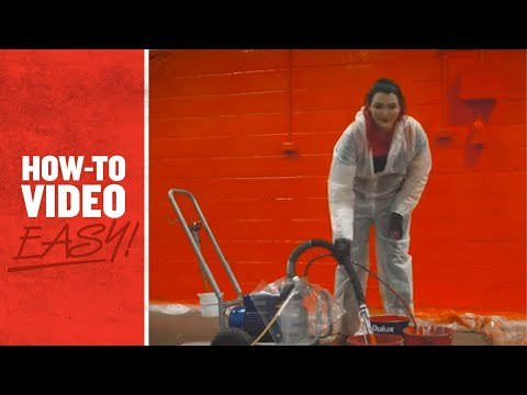 Kennards Hire EasyTV Episode 6 - How To Paint Using An Airless Sprayer