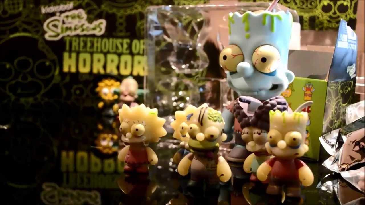 Zombie Krusty-THE SIMPSONS TREEHOUSE OF HORRORS Vinyl Mini Figure KIDROBOT