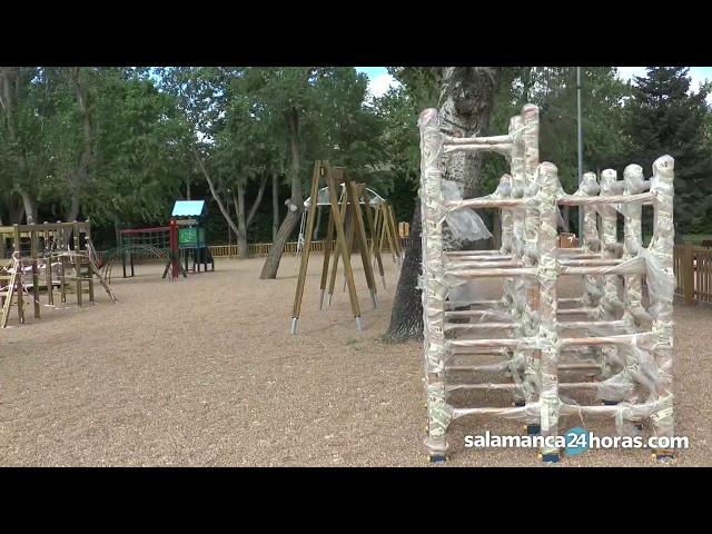 Renovación de las plazas y parques de Salamanca