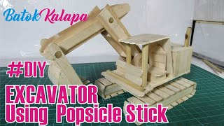 Video How To Make a EXCAVATOR Using  Popsicle Stick download MP3, 3GP, MP4, WEBM, AVI, FLV November 2018