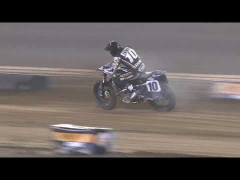 Heartbreak for Johnny Lewis at the DAYTONA TT  American Flat Track