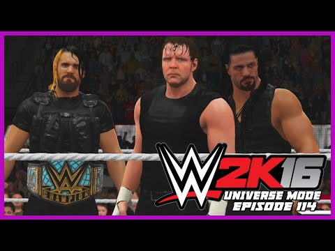 WWE 2K16 | Universe Mode - 'WRESTLEMANIA!' (PART 1) | #114