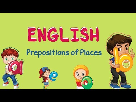 English | Prepositions of Place