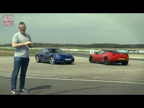 Porsche Cayman S Vs Lotus Evora S review - Auto Express