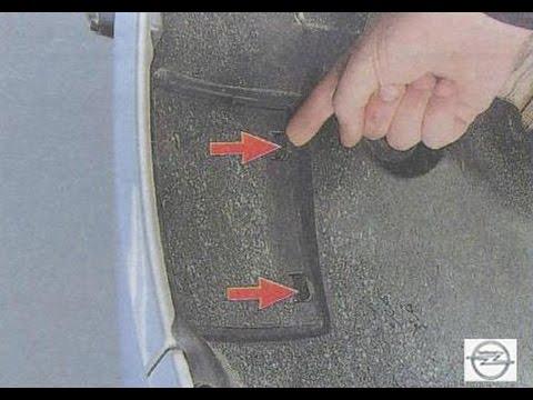 Замена лампы указателя поворота opel astra j Замена капота хонда аккорд 7