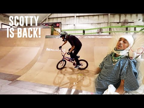 PARALYZED TO BMX BIKE RIDING IN 10 MONTHS!