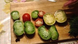 Фото Салат  из зелёных  помидоровКаре козлёнка