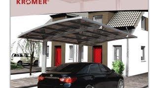 Aufbau Des KrÖmer Aluminium Carport