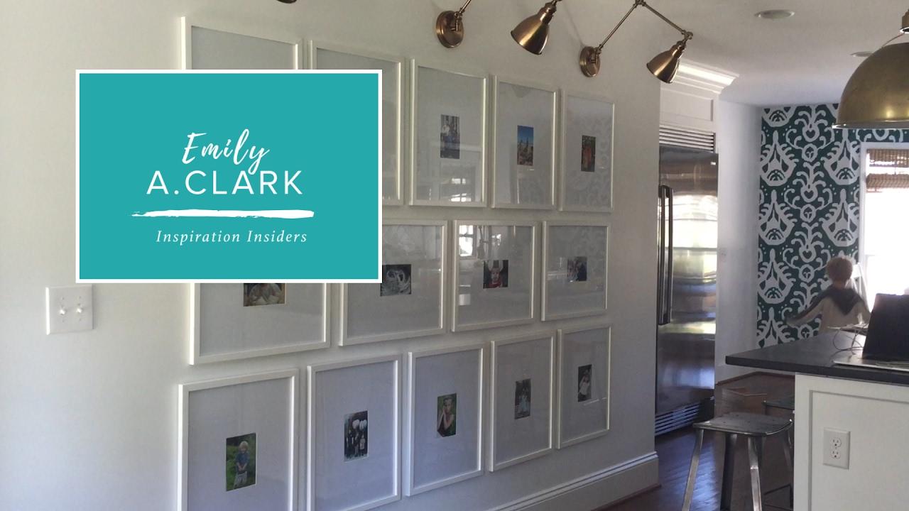 Family Gallery Wall Emily A Clark Youtube