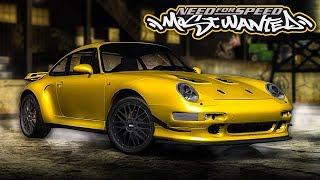 NFS Most Wanted | 1997 Porsche 911 (993) Turbo S Mod Gameplay [Ultrawide 1440p60]