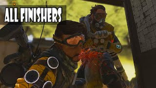 All Finishers In Apex Legends With Sounds (In-Game Finishers)