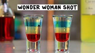 Wonder Woman Shot - Tipsy Bartender