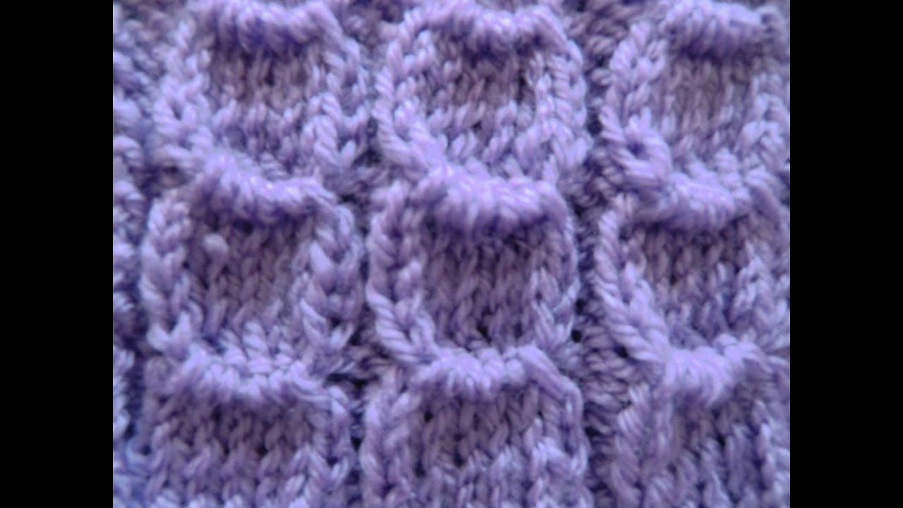 Knit Pattern * HALF MOON * - YouTube