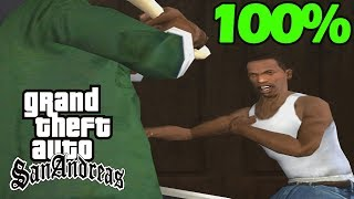 GTA San Andreas 100% Speedrun - 2019