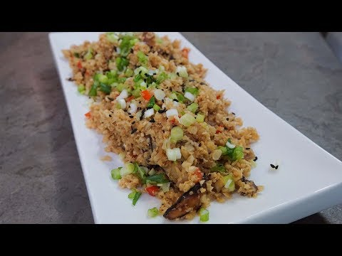 Easy Homemade Cauliflower Fried Rice | SAM THE COOKING GUY