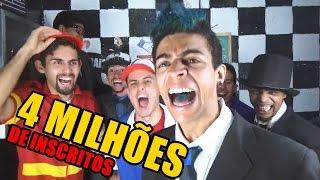 AS PIORES PIADAS DO MUNDO (ESPECIAL 4 MILHÕES DE INSCRITOS)