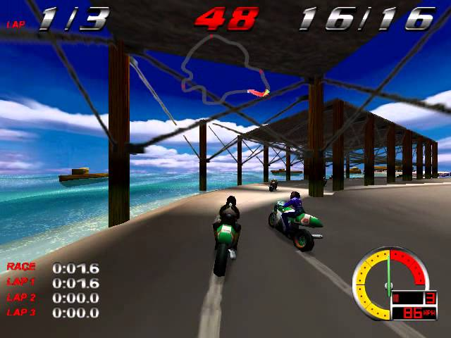 Redline Racer (Criterion Studios) (Windows) [1998]