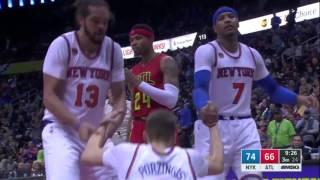 Knicks Top 10 Plays of the Season 2016-2017