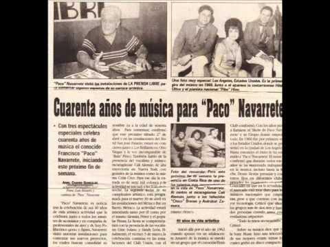 5to Aniversario Paco Navarrete
