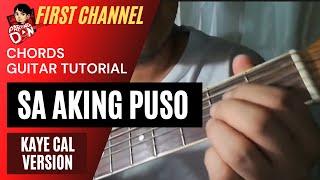 Baixar Guitar tutorial: Sa Aking Puso chords - Kaye Cal version