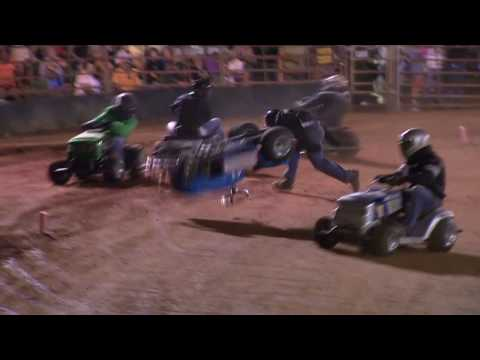 Lawnmower Racing - Ellerbe, NC
