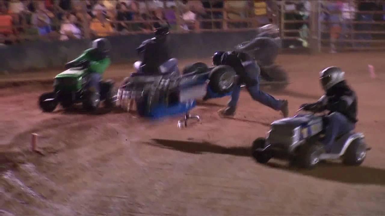 Lawn Mower Racing >> Lawnmower Racing - Ellerbe, NC - YouTube