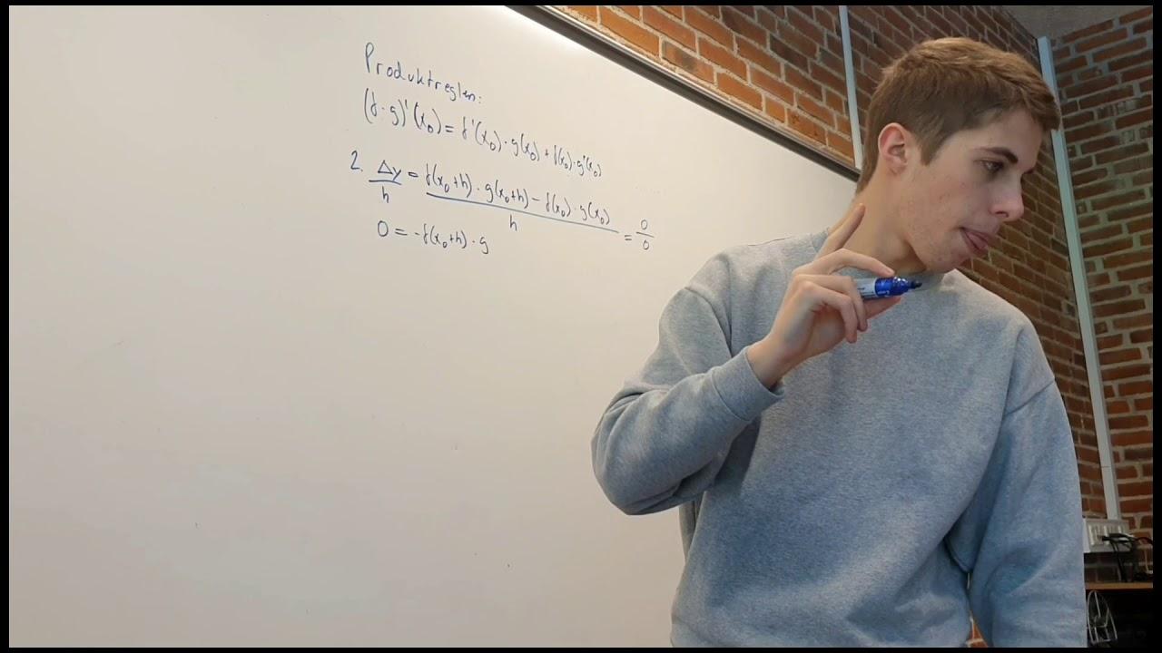 Eksamensspørgsmål 2 - Differentialregning