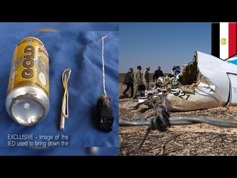 Schweppes bomb: ISIS claims soda can explosive was used to down Russian Metrojet - TomoNews