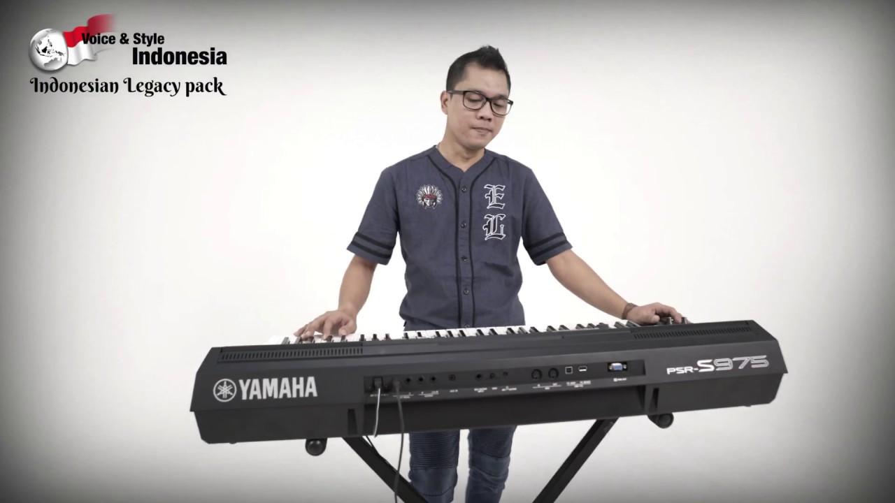 Yamaha PSR-S975/S775 - Indonesian Legacy Pack - Dangdut Ver  01