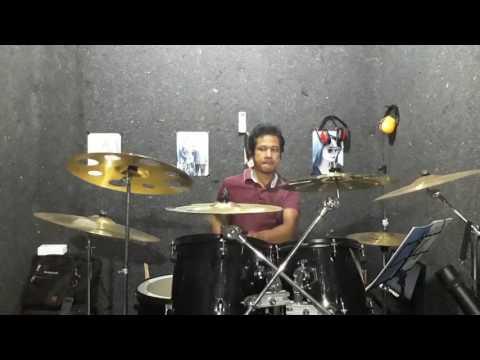 Evo Terlalu lelah Drum cover By Novigita (Official video)