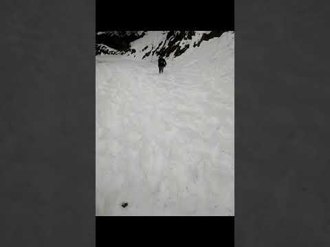 Snow somer sauting energies your soul ..snow laden Guldandi sarthal road 2018