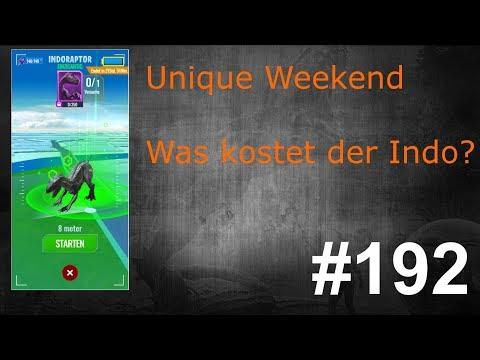 Unique Weekend, Lohnt sich 1 Versuch beim Indoraptor?| Jurassic World Alive Deutsch #192