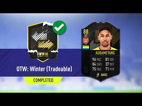 OTW WINTER SBC COMPLETED!! - CHEAPEST METHOD! FIFA 18
