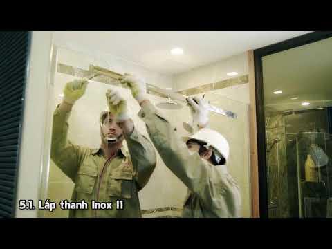 Phòng tắm kính - Hướng dẫn lắp đặt - Phòng tắm kính thế hệ mới Fendi | FILMCITI PRODUCTION