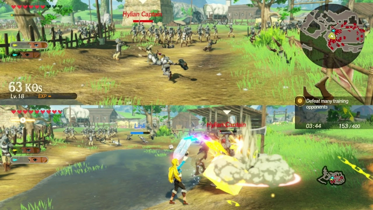 Link Two Handed Weapons Hyrule Warriors Age Of Calamity Multiplayer Let S Play Part 20 Youtube